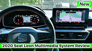 New Seat Leon 2020 Multimedia Infotainment System & Digital Cockpit Review