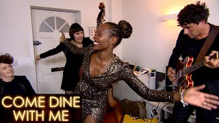Janelle Steals The Show With Her Singing | Come Dine With Me