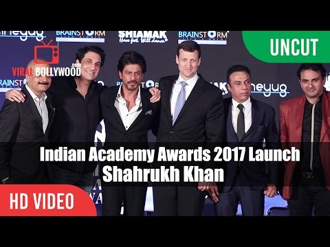 UNCUT - Indian Academy Awards 2017 Launch & Press Conference | Shahrukh Khan