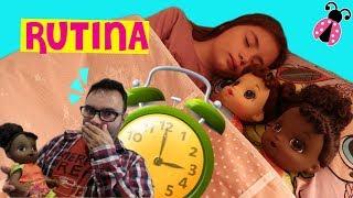Rutina 24 horas con mis Baby Alive y mi padre 👶 Los juguetes de Arantxa