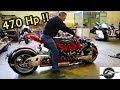 470 แรงม้า สุดโหด โคตรบ้า!!มอเตอร์ไซต์ ยัดเครื่อง MASERATI V8  !! LAZARETH LM 847