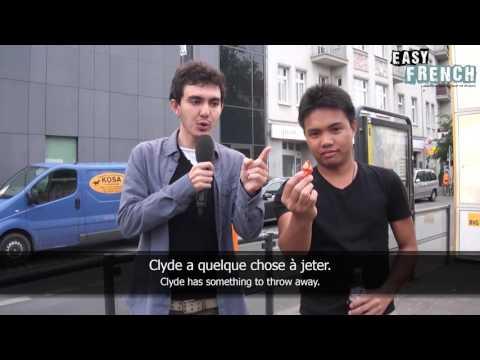 Tiếng Pháp : trên đường phố Berlin