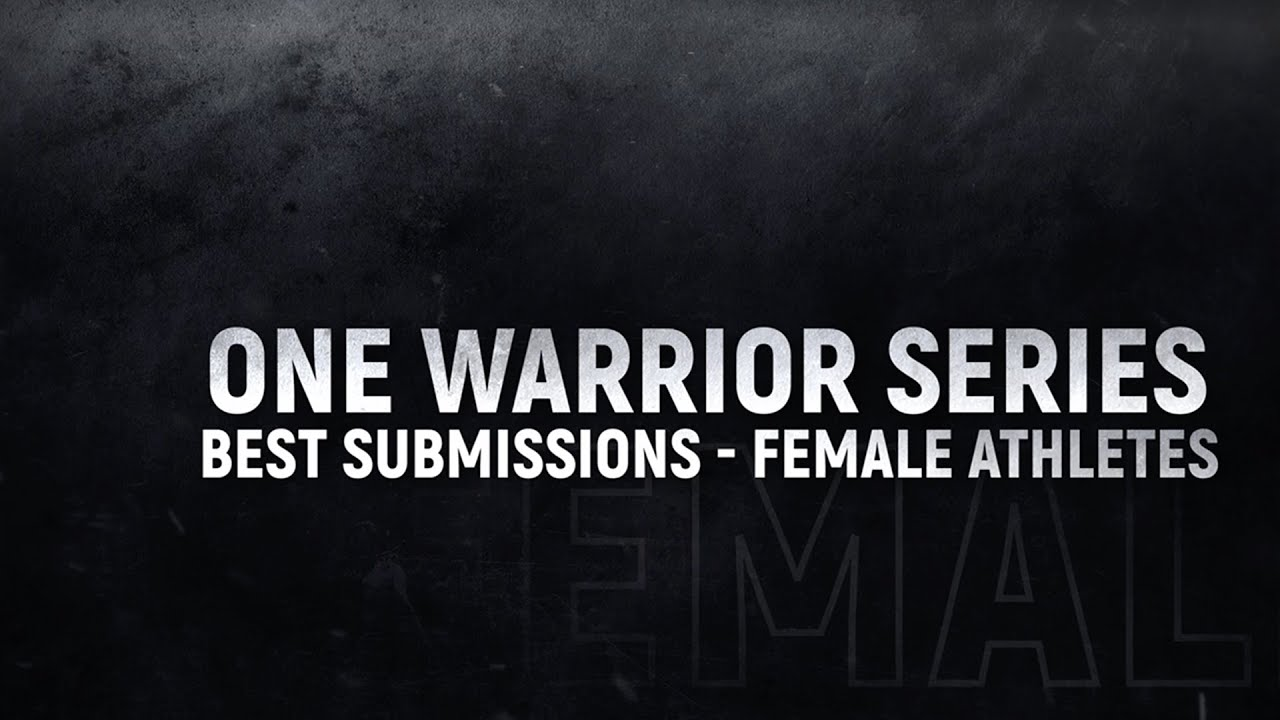 Rich Franklin's ONE Warrior Series | Top 5 Submissions From Female Athletes