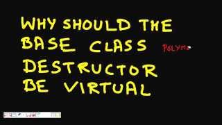 Programming Interview: Virtual Destructors in C++: Why we need them