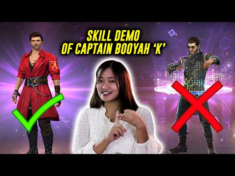 New Character Is Definitely OP than ALOK | Captain Booyah KSHMR 'K' Character in Garena Free Fire