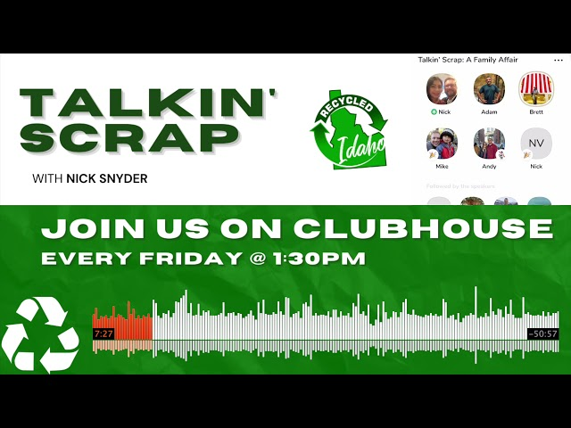 Talkin' Scrap #7: A Family Affair with Adam Weitsman and Brett Ekart. Hosted by Nick Snyder