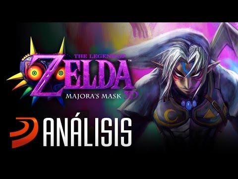 """Análisis de: Zelda Majora's Mask 3D - """"Máscaras, Lunas y Relojes"""""""