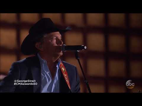 "Alan Jackson & George Strait sing ""Remember When"" & Troubadour"" live 2016 CMA 50th concert HD 1080p"