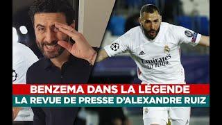 Benzema, Haaland, Messi…  La revue de presse d'Alexandre Ruiz