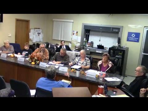 Waynesfield Village Council Meeting 10/23/17 (Part 1 of 2)
