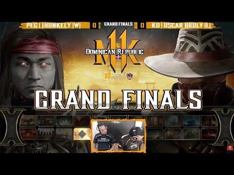 MK11 - PEG | Jhonkelin (Liu Kang ) Vs KD | Oscar Broly (Erron Black) - Grand Finals MK11DPL #1