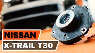 Wie Sie Lagerung Radlagergehäuse beim NISSAN X-TRAIL (T30) selbstständig austauschen - Videoanleitung