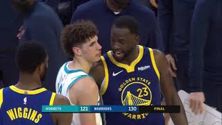 LaMelo Ball And Draymond Green Show Love After Hornets-Warriors Game