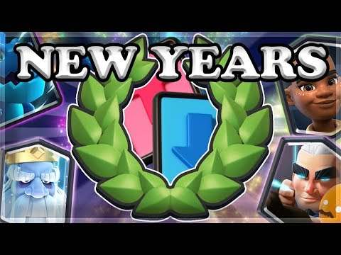 New Years Draft Challenge - 12 Wins! | Clash Royale 🍊