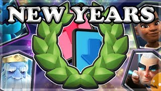 New Years Draft Challenge - 12 Wins!   Clash Royale 🍊