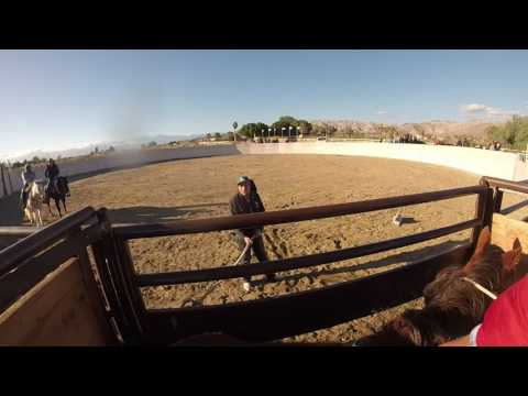 Mexican style riding a bronc fail.