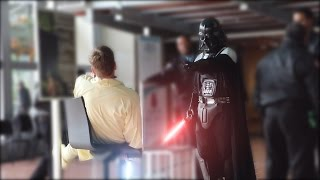 Darth Vader Force PRANK!
