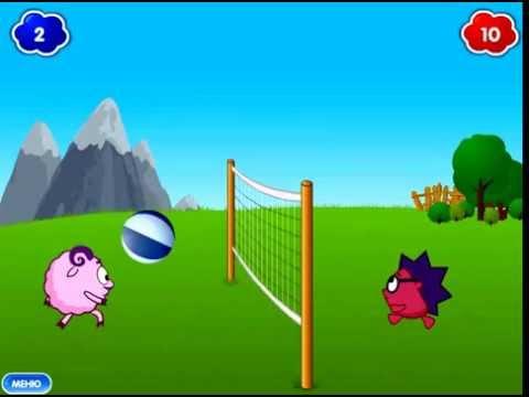 Смешарики Волейбол / Smeshariki Volleyball