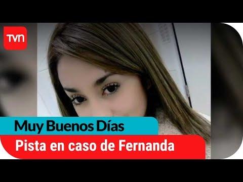 Nuevo sospechoso en la desaparición de Fernanda Maciel   Muy buenos días