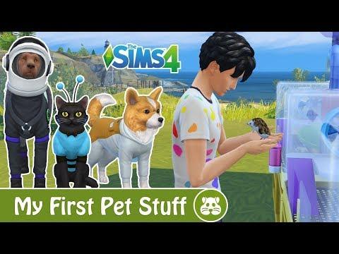 The Sims 4: My First Pet Stuff - Bemutató