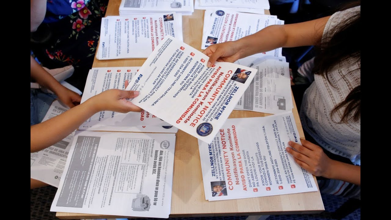 Threat of immigration raids incites fear across U S
