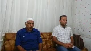 مع والدي السيد هاشم الحمدان حفظه الله واطال في عمره....