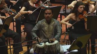Wijeratne Concerto for Tabla and Orchestra | Performed by Sandeep Das