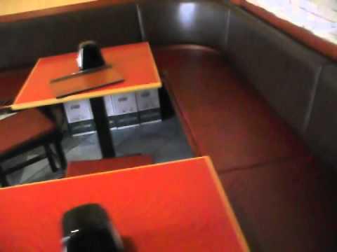 simulazione interni osterie arredamento tavoli e men