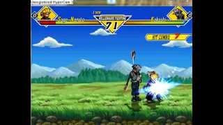 Naruto vs DBZ M.U.G.E.N