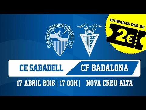 CE Sabadell 1-1 CF Badalona