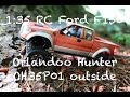 Micro RC Scale 1:35 Ford F150 Orlandoo Hunter OH35P01 outside