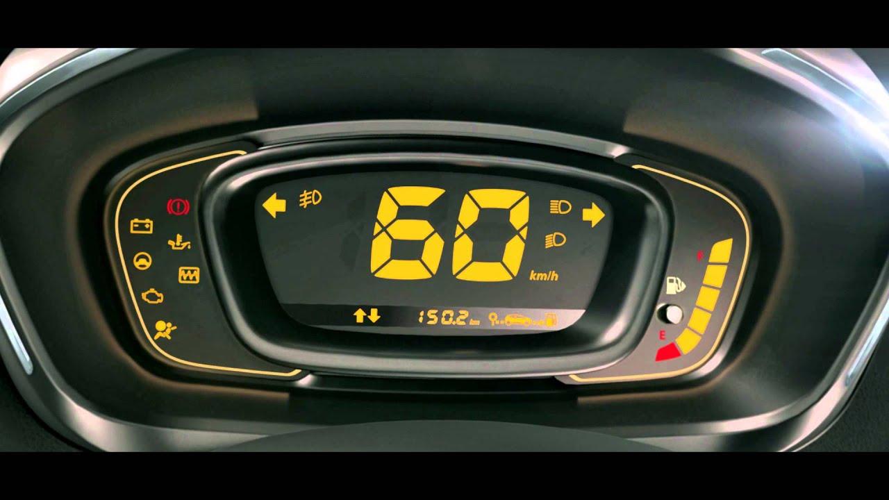 Renault Kwid Digital Instrument Cluster Youtube