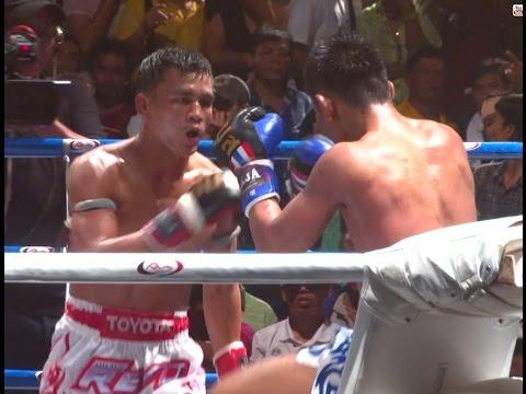 Muay Thai Fight – Seksan vs Thanonchai, Samui Festival – 24th January 2016