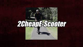 2 Cheap E-Scooters Only $299! Christmas Special Offer!