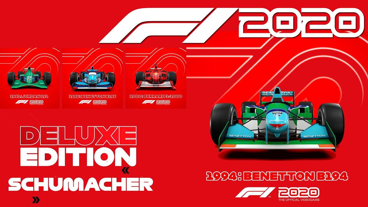 F1 2020 PRIMEIRO TRAILER OFICIAL DELUXE EDITION SCHUMACHER, DATA ...