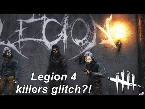 Dead By Daylight| We are Legion! 2 killers glitch! Or more