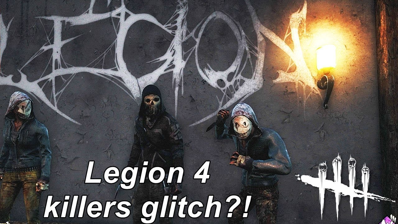 Dead By Daylight| We are Legion! 2 killers glitch! Or more?