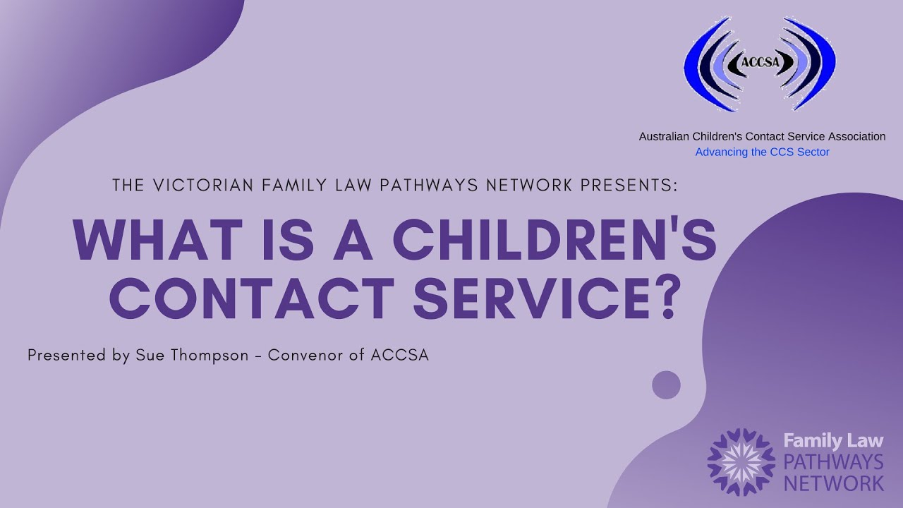 What is a Children's Contact Service?
