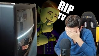 Phil's TV Dies During Speedrun (Emotional)