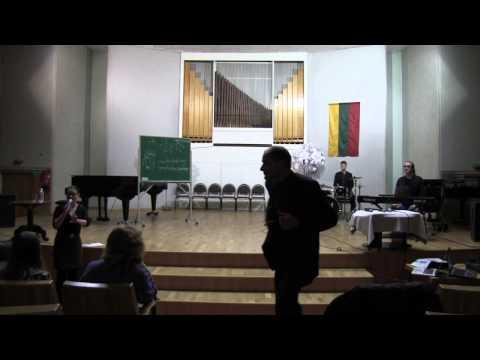 Jazz Education Seminar - Klaipėda Eduardas Balsys Gymnasium of Arts (Vocalists)