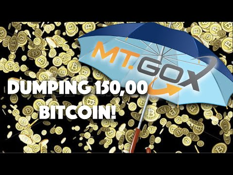GREAT NEWS! Mt. GOX To DUMP 150,000 BITCOIN. Market CRASH Or BIG OPPORTUNITY?