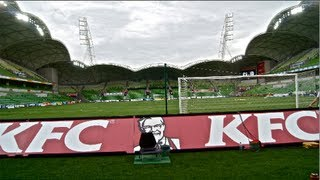 Northern Terrace - Melbourne Victory vs Perth Glory (Aami Park)