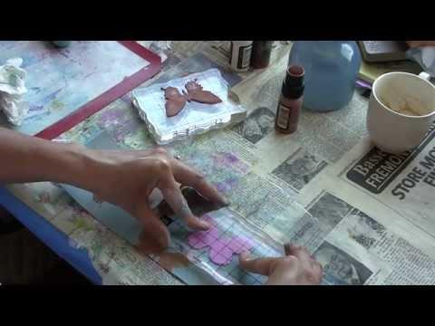 how to use tim holtz stamp platform