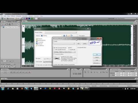 How to Change MP3 Bitrate Upon Export on Adobe Audition 3.0