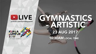 Gymnastics Artistic Men's & Women's Individual Apparatus (Day 4) | 29th SEA Games 2017