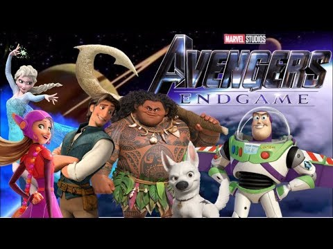 Avengers: Endgame - Official Trailer (Disney Parody)