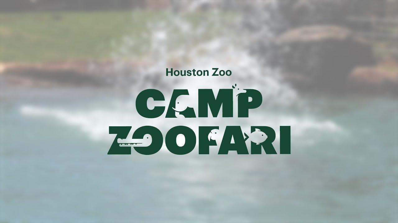 Camp Zoofari - The Houston Zoo