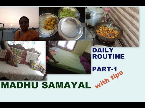 Daily Routine part-1 with Tips | As a HomeMaker & Youtuber