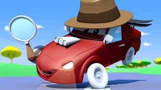 Baby Cars - School DETECTIVES! - Car City ! Cars and Trucks Cartoon for kids