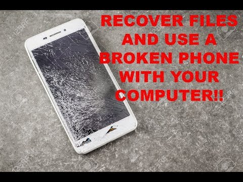 control-phone-via-pc-if-screen-is-damaged/broken,-recover-files-from-a-broken-phone-2018-version!